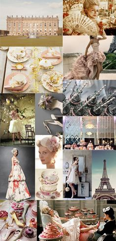 inspiration board Borrowed Blue & Lace would love to style a wedding like this