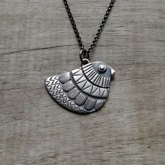 Mexican Bird Sterling Silver Pendant by MUSIBATTY on Etsy, $100.00