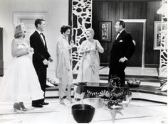 The Upson's city apartment set from Auntie Mame, Warner Bros. 1958