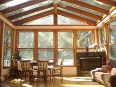 Beautiful Glass Sunroom Addition