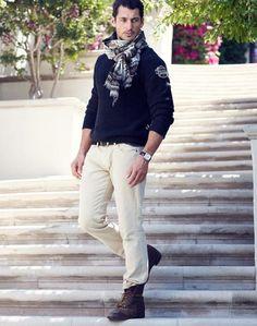 Lucky Brand Winter 2012 Model: David Gandy
