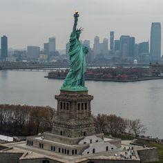 Lady Liberty by @johnnymeant   newyork newyorkcity newyorkcityfeelings nyc brooklyn queens the bronx staten island manhattan
