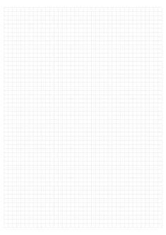 Folha quadriculada para imprimir Planner