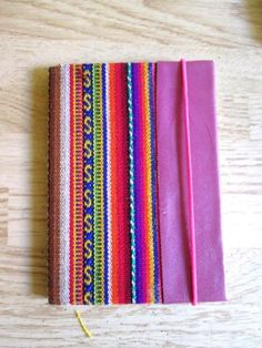 Journal-Art-Break-Colorful-Native-South-American-INKA-Fabric-Stripe-Notebook