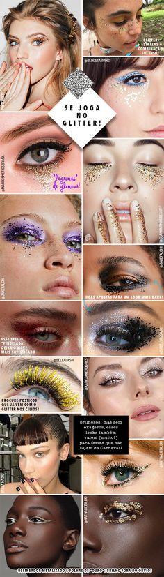 Inspirações de make para o Carnaval 2018 - Garotas Estúpidas - Garotas Estúpidas