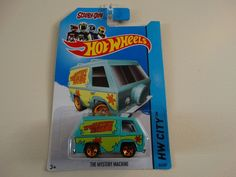 Hot Wheels, 2014 HW City, Scooby-Doo! The Mystery Machine 84/250 #Mystery