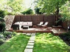 Image result for very small garden ideas on a budget #gardenideasonabudget