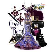 """Queen Beryl"" by sailormooncloset on Polyvore"