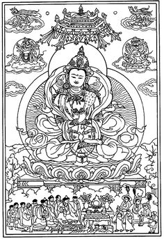 d8e693d136ebb5aafa922a5b357a8b64 tibetan mandala mandalas to color
