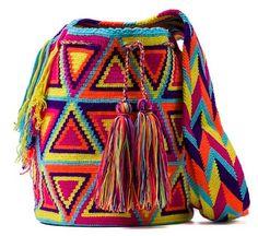 Wayuu Indian style bags