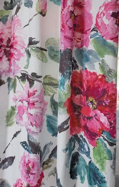 Designers Guild Shanghai Garden digitally printed linen