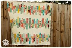 Random Reflections Quilt  finished size 60x60 1 Jelly Roll print 1 Jelly Roll solid in Snow (or 3 yards) 4 yards coordinating print for backing 1 yard for the binding 10 1/2″ square ruler (you can use a larger one, but using this ruler makes it MUCH easier)