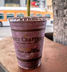 Juice crafters - great place for smoothies in Downtown Los Angeles, California