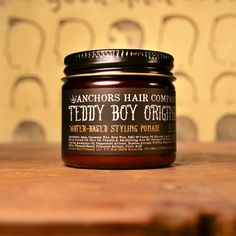 Teddy Boy Original Pomade.  Handmade Hair Products.