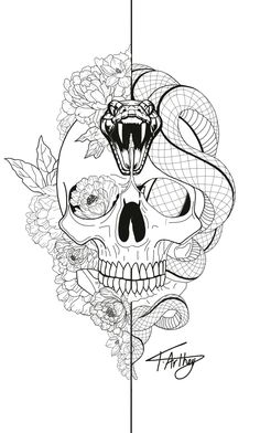 Snake Tattoo Meanings Itattoodesigns Com - Rose And Snake Tattoos A Rose By Anot., - Snake Tattoo Meanings Itattoodesigns Com – Rose And Snake Tattoos A Rose By Anot…, - Skeleton Tattoos, Skull Tattoos, Rose Tattoos, Body Art Tattoos, Sleeve Tattoos, Tattoo Roses, Flower Tattoos, Gun Tattoos, Ankle Tattoos