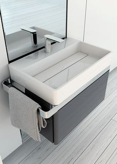 SINGLE VANITY UNIT STRUCTURE COLLECTION BY INBANI | DESIGN ARIK LEVY
