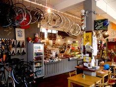 bicycle coffee shop