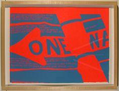 Sister Mary Corita Kent, 'one way', 1967