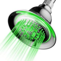 DreamSpa Temperature Controlled Color Changing LED Shower Head