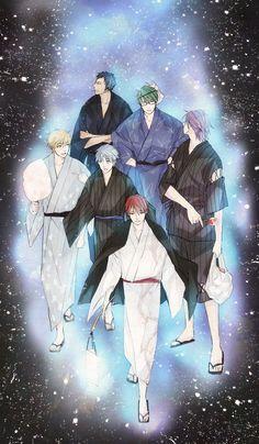 Kiseki no sedai The Generation of Miracles | キセキの世代 | Kiseki no Sedai By アオタケ(あおのたける) pixiv id=1683188