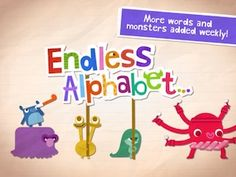 Released only five days ago, our Good Free App of the Day #2 - Endless Alphabet already has nearly 800 iTunes ratings averaging 5 stars!!  Lisa M