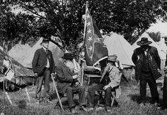 July 1, 1913: Former enemies come together at Gettysburg.