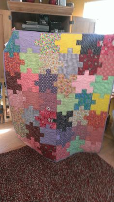Jill Puzzle Quilt 2013