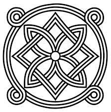 """Decoración tipo """"nudo celta""""                                                                                                                                                      Más"""