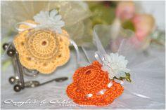 Tutorial: Bomboniera cappellino crochet su ....Temptations....