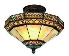 Lampade-plafoniera stile Tiffany : collezione APOLO