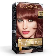 I want to try this! I've been wanting to dye my hair, but not with permanent color. I may do it this weekend! Superior Preference® Paris Couture™ Rich Merlot Red 5RM