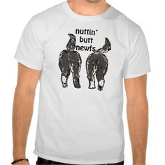 Newfoundland dogs tee shirt