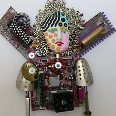 Art Made Of Recycled Objects