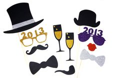 At Evite, we know a party is that much better with a photo booth. Add some new year's sparkle to yours this NYE! #NYE #2013 #newyears