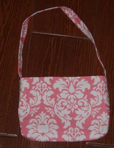 Petal pink dandy damask toddler purse - pinned by pin4etsy.com