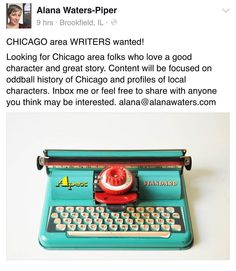 We need contributors for our new site! Looking for spotlights on oddball and standout people/stories of Chicago!! #chicago #blog #helpwanted #oddball #writers #creative #mundo #mysteries #paranormal #conspiracy #crime #secrets #fiction #history by dragonbait2007