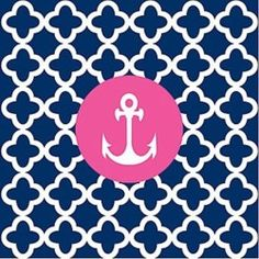 navy and pink- tumbler
