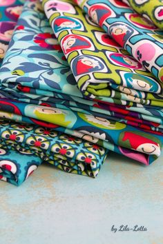 Fabric by Lila-Lotta  New Carlitos collection #zwergcarlitos #lilalotta #swafing #farbenmix #huups