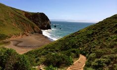 5 hikes in the Bay Area: Tennessee Valley, Mt. Diablo, Hill 88, Sweeney Ridge, and Golden Gate Park