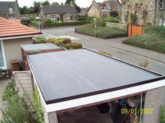 #Domestic #Single #Garage #EPDM #Firestone #Roof £1250