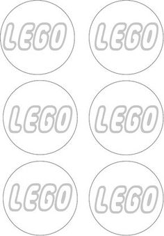 Printable Template for making those quick lego decorations