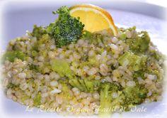 Orzo con Broccoli al Limone