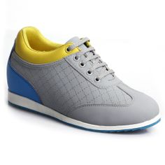 2014 Women Shoes Microfiber Athletic Sport Elevator Shoes; Model :W45B22; Height : 6cm (2.36 inch).