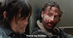 Rick and Daryl's bromance is one of my favorite parts of The Walking Dead.