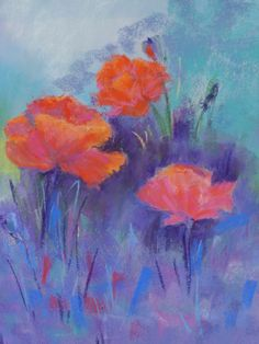 Poppies painting sold.