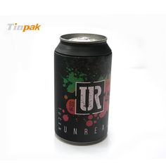 Cola tin box for T-shirt packaging. Custom printing is acceptable at Tinpak. More information at http://www.tinpak.us/Products/customprintedTshirttin.html