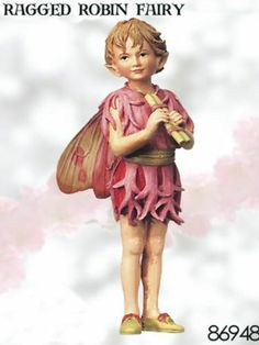 Retired Cicely Mary Barker Ragged Robin Flower Fairy   eBay