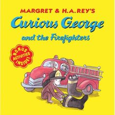Curious George® and the Firefighters, HOU9780618494965
