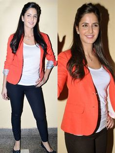 katrina kaif in casual dress - Google Search                                                                                                                                                      More