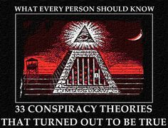 You May Call Me A Conspiracy Theorist If I May Call You A Coincidence Theorist. Most people can't resist getting the details on the latest conspiracy theories, no matter how far-fetched they may se…